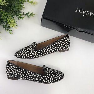 "J. Crew ""Cora"" Leopard Loafers"